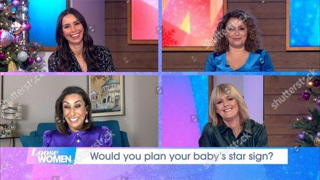 Christine Lampard, Nadia Sawalha, Saira Khan, Jane Moore