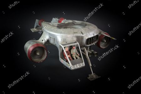 Stock Picture of Helijet used in the production of Terrahawks sold for £8060  A huge hidden cache of Thunderbirds creator Gerry Anderson's production puppets, props and scripts have sold for £203,000.  They had belonged to the late John Bell, a driver and handyman at Bray Studios in Berkshire where the special effects for Anderson's shows were filmed. He was given hundreds of mementos by a senior director at Anderson's production company as they had no storage facilities for them.  The archive was uncovered following Mr Bell's death last year and went under the hammer with auctioneers Ewbank's, of Woking, Surrey. The sale sparked worldwide interest as it was feared many of these treasured items had ended up in a skip.