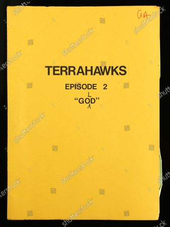 Stock Image of Anderson's personal script for an episode of Terrahawks, which is marked with his initials 'GA' and contains his handwritten notes and corrections, fetched £975  A huge hidden cache of Thunderbirds creator Gerry Anderson's production puppets, props and scripts have sold for £203,000.  They had belonged to the late John Bell, a driver and handyman at Bray Studios in Berkshire where the special effects for Anderson's shows were filmed. He was given hundreds of mementos by a senior director at Anderson's production company as they had no storage facilities for them.  The archive was uncovered following Mr Bell's death last year and went under the hammer with auctioneers Ewbank's, of Woking, Surrey. The sale sparked worldwide interest as it was feared many of these treasured items had ended up in a skip.