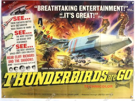 Editorial photo of Thunderbird's memorabilia sold for £203,000