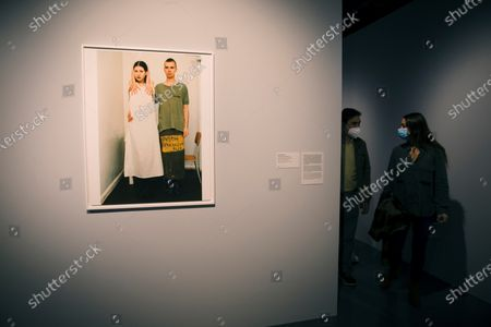 Editorial photo of Exhibition 'Facing. The Uncertain Portrait. Photograph and Video. 1972-2011', Es Es, Spain - 03 Dec 2020