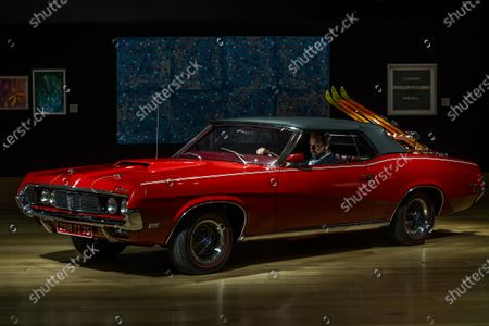 Editorial picture of Mercury Cougar XR7 from Bond film' On Her Majesty's Secret Servicere at the preview of Bonhams' Motors sale., New Bond Street, London, UK - 03 Dec 2020