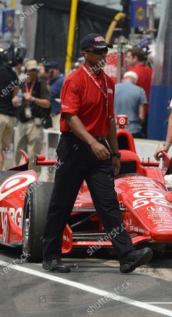 25 May, 2012, Indianapolis, Indiana USA IndyCar's chief of security, Charles Burns (c)2012 Dan R. Boyd LAT Photo USA
