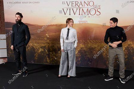 Javier Rey, Blanca Suarez and Pablo Molinero