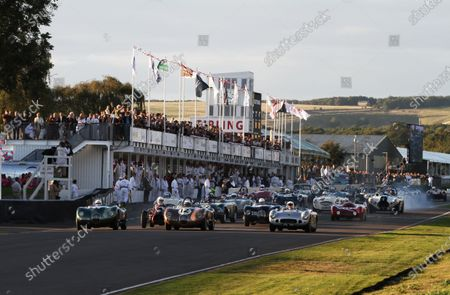 Editorial photo of Goodwood Revival, 2012 Goodwood Revival Race Meeting , Goodwood Circuit, United Kingdom - 14 Sep 2012