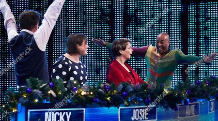 Editorial photo of 'The Chase Celebrity Christmas Special' TV Show, Series 11, Episode 11, UK - 25 Dec 2020