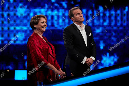 Stock Picture of Anne Diamond and Bradley Walsh