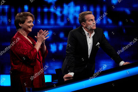 Anne Diamond and Bradley Walsh