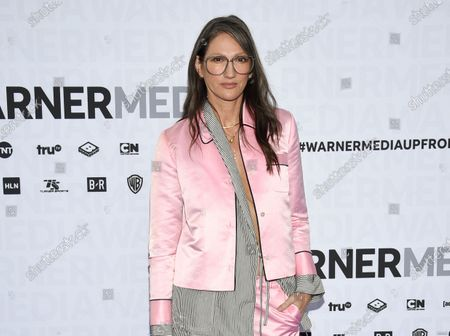 """Jenna Lyons attends the WarnerMedia Upfront at Madison Square Garden in New York on . The former J. Crew President and Creative Director has pivoted, and is now building her own brand on reality TV. Her new HBO Max show, """"Stylish with Jenna Lyons,"""" which brings her design acumen to home, fashion and beauty projects, launches this week"""