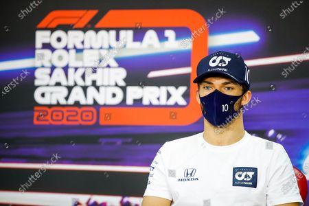 Editorial image of 2020 F1 Sakhir Grand Prix, Preparations, Bahrain International Circuit, Sakhir, Bahrain - 03 Dec 2020