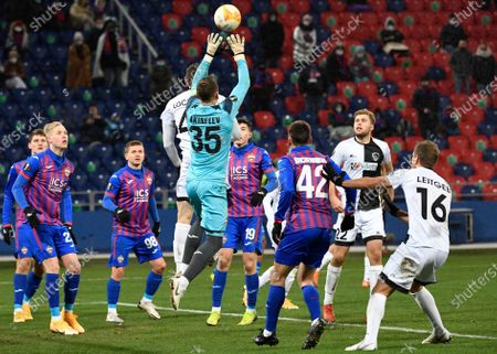 Editorial picture of Russia Soccer Europa League, Moscow, Russian Federation - 03 Dec 2020
