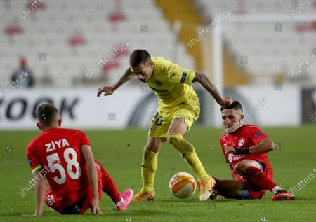 Editorial picture of Sivasspor vs Villarreal CF, Sivas, Turkey - 03 Dec 2020