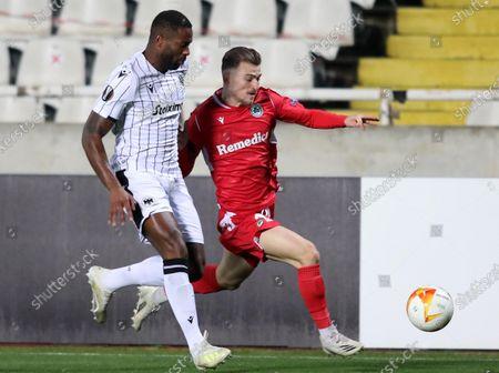 Editorial photo of Omonoia Nicosia vs PAOK FC, Cyprus - 03 Dec 2020