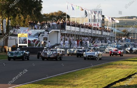 Editorial picture of Goodwood Revival, 2012 Goodwood Revival Race Meeting , Goodwood Circuit, United Kingdom - 14 Sep 2012
