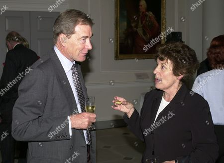 Former Ministers (lord) Ian Lang (now Lord Lang Of Monkton) And Gillian Shephard (now Baroness Shephard Of Northwold) At Michael Heseltine's Book Launch Party At Somerset House London.