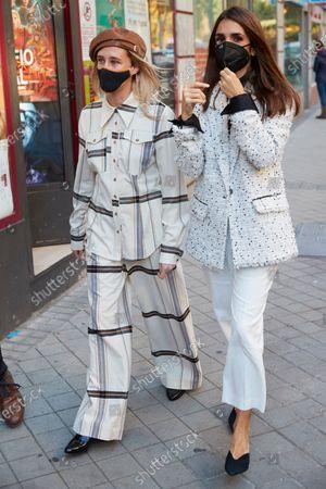 Actresses Olivia Baglivi and Elena Furiase