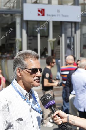 Nurburgring, Germany. 7th July, 2013. Dr Mario Theissen World Copyright: Charles Coates/