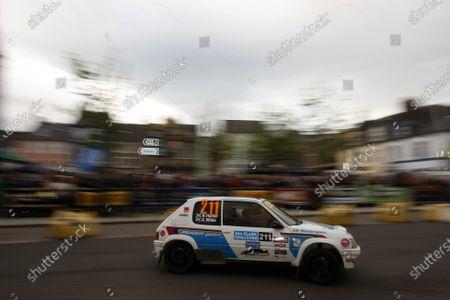 2013 BRC Challenge, Jim Clark Rally. 31st May - 1st June 2013. Ross Hunter / Gary White Peugeot 205. World Copyright: Ebrey / LAT Photographic.