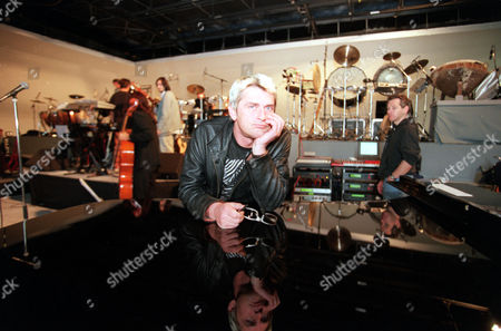 Composer Mike Oldfield Creator Of Tubular Bells At Rehearsals For Tubular 3.