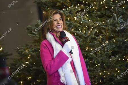 """Hoda Kotb co-hosts """"Christmas in Rockefeller Center"""" during the 88th Rockefeller Center Christmas Tree Lighting Ceremony, in New York. The lit tree will be on display starting Thursday, December 3, through early January 2021 and will also will be livestreamed each day from 8 am to midnight at rockefellercenter.com"""