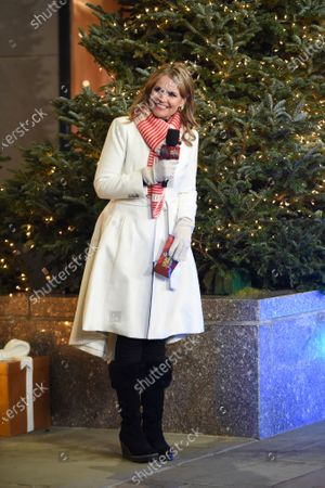 """Savannah Guthrie co-hosts """"Christmas in Rockefeller Center"""" during the 88th Rockefeller Center Christmas Tree Lighting Ceremony, in New York. The lit tree will be on display starting Thursday, December 3, through early January 2021 and will also will be livestreamed each day from 8 am to midnight at rockefellercenter.com"""