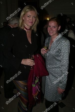 (l-r) Annabel Butler (annabel Heseltine) And Kerensa Jennings At Michael Heseltine's Book Launch Party At Somerset House London.