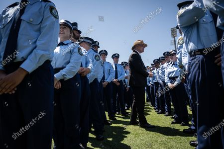 Editorial photo of Police Attestation Parade in Sydney, Australia - 04 Dec 2020