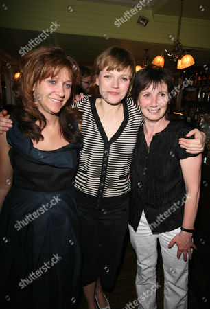 (l-r) Sonia Friedman Maxine Peake And Kate Betts At The After Party For The Play's The Thing.