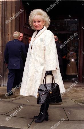Barbara Windsor At A Memorial For Actress Beryl Reid.