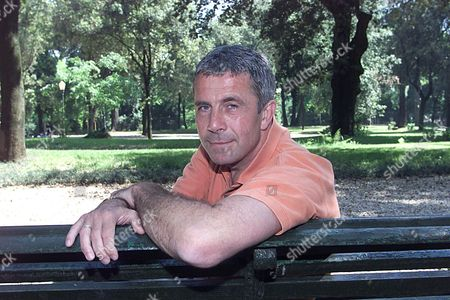 Simon Reed (52) Brother Of The Late Oliver Reed Who Now Works For Eurosport Pictured In Borghese Park Rome  Where He Went After His Father And Brother's Deaths