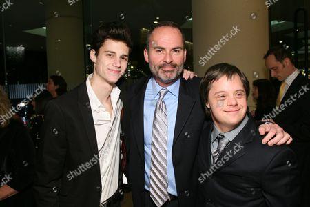 Ken Baumann, Mark Derwin and Luke Zimmerman