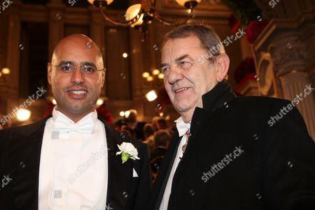Saif Gaddafi, Richard Schenz