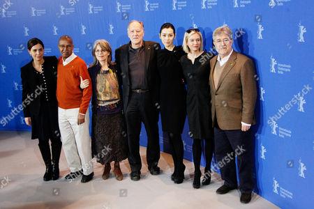 Francesca Comencini, Nuruddin Farah, Cornelia Froboess, Werner Herzog, Yu Nan, Renee Zellweger and Jose Maria Morales