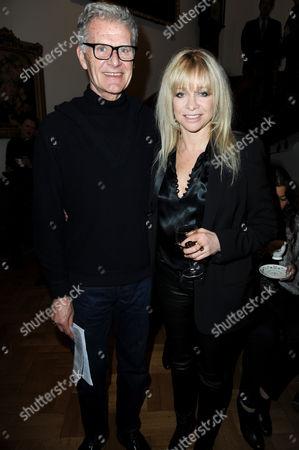 Tony King with Jo Wood