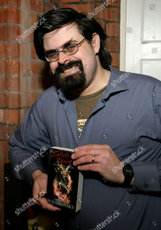 Editorial photo of 'Salute The Dark' Adrian Tchaikovsky Book Launch, Waterstones, Reading, Britain  - 13 Feb 2010