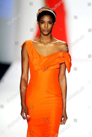 Editorial image of Naomi Campbell Fashion For Relief Haiti Show, Autumn / Winter 2010 Mercedes-Benz Fashion Week, New York, America - 12 Feb 2010