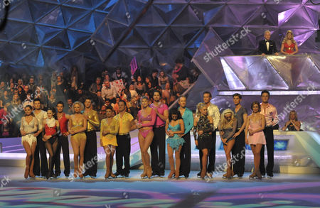 Presenters: Phillip Schofield and Holly Willoughby with the Contestants: Danniella Westbrook and Matthew Gonzalez. Danny Young and Frankie Poultney. Emily Atack and Fred Palascak. Mikey Graham and Melanie Lambert. Sharron Davies and Pavel Aubrecht. Hayley Tamaddon and Daniel Whiston. Dr Hilary Jones and Alexandra Shauman. Kieron Richardson and Brianne Delcourt. Gary Lucy and Maria Filippov.
