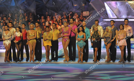 The Contestants are as follows: Danniella Westbrook and Matthew Gonzalez. Danny Young and Frankie Poultney. Emily Atack and Fred Palascak. Mikey Graham and Melanie Lambert. Sharron Davies and Pavel Aubrecht. Hayley Tamaddon and Daniel Whiston. Dr Hilary Jones and Alexandra Shauman. Kieron Richardson and Brianne Delcourt. Gary Lucy and Maria Filippov.
