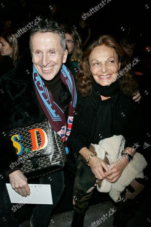 Simon Doonan and Diane Von Furstenberg