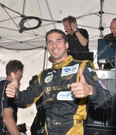 17-20 October, 2012, Braselton, Georgia USA #12 Rebellion Racing's Neal Jani wins pole (c)2012 Dan R. Boyd, LAT Photo USA