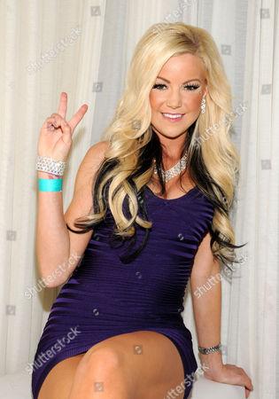 Editorial photo of Jamie Jungers Hosts Pure, Pure Nightclub at Caesars Palace, Las Vegas, America - 12 Feb 2010