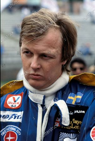 Ronnie Peterson (Lotus 79-Ford), portrait.  World Copyright: LAT Photographic. Ref:  P3A 08.