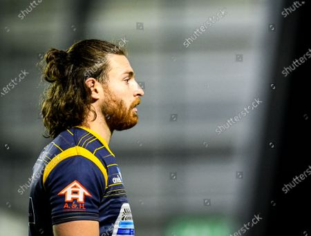 Oli Morris of Worcester Warriors during the Gallagher Premiership match between Worcester Warriors and Bath Rugby, 05 December 2020.