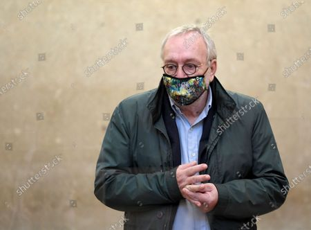 Defendant Rudolf Fischer at the start of the verdict in the trial over suspected bribery and breach of trust in the Buwog privatization, at the Regional Court in Vienna, Austria, 04 December 2020. Ex-Finance Minister Karl-Heinz Grasser was sentenced to eight years in prison for breach of trust and acceptance of gifts by officials. The lobbyists Walter Meischberger and Peter Hochegger were sentenced to seven and six years' imprisonment respectively. All judgments are not final.