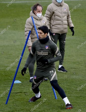 Editorial photo of Atletico Madrid training, Spain - 04 Dec 2020