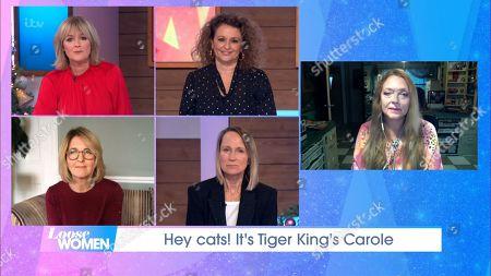 Stock Photo of Jane Moore, Nadia Sawalha, Kaye Adams, Carol McGiffin and Carole Baskin