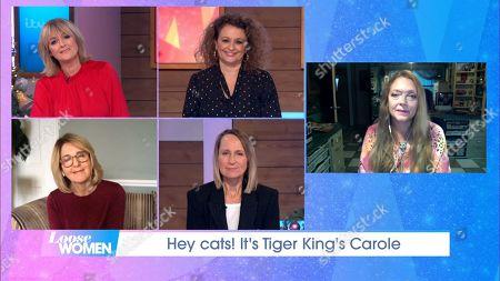 Jane Moore, Nadia Sawalha, Kaye Adams, Carol McGiffin and Carole Baskin