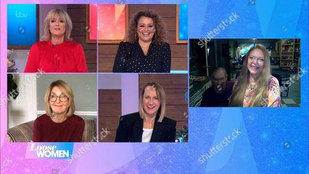 Editorial photo of 'Loose Women' TV Show, London, UK - 04 Dec 2020