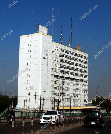 Stock Image of Exterior view of the building of the Iraqi ministry of health in central Baghdad, Iraq, 04 December 2020. Iraq needs international assistance to enact its plan to provide its citizens with a free-of-charge Covid-19 vaccine, Iraqi President Barham Salih told the United Nations on 03 December 2020.