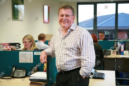 Editorial image of Peter Watts, Chief Executive of The Practice, at their offices in Amersham, Britain - 10 Feb 2010